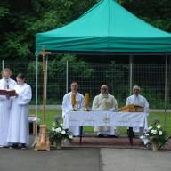 Uroczystość Najświętszego Ciała i Krwi Chrystusa - msza święta i procesja teoforyczna