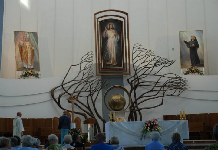 Pielgrzymka parafialna do Łagiewnik 2016