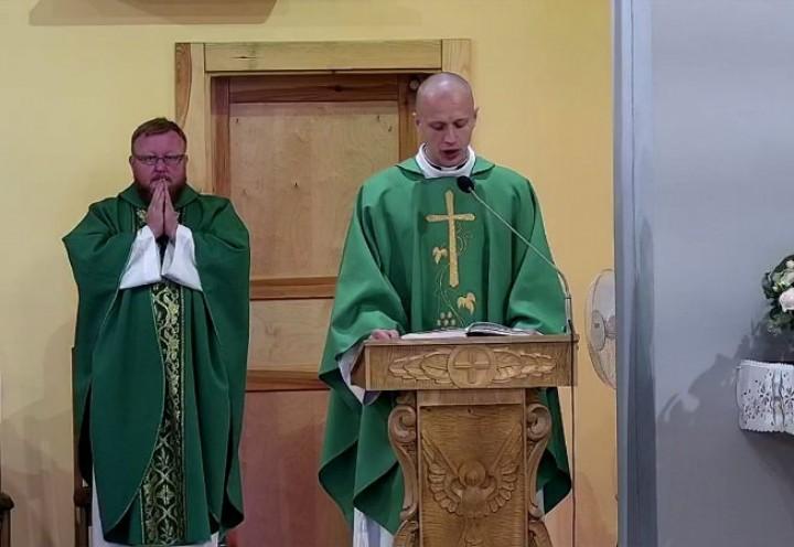 Neoprezbiter ks. Patryk Gawłowski w naszej Parafii 2020